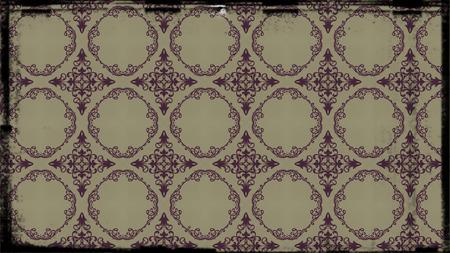 Purple and Beige Vintage Floral Pattern Wallpaper Design Template