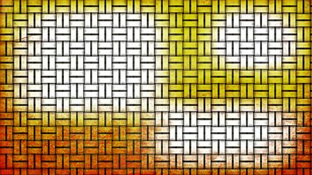 Orange and White Bamboo Background Archivio Fotografico