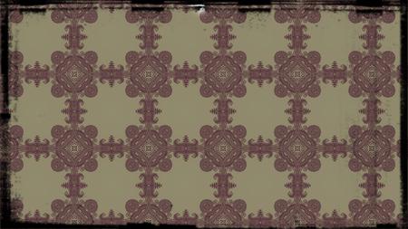 Vintage Decorative Floral Wallpaper Pattern 版權商用圖片