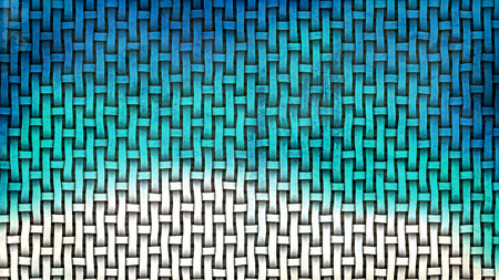 Blue and White Weave Texture Background 版權商用圖片