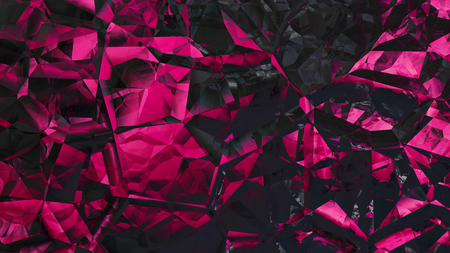 Abstract Cool Pink Crystal Background 版權商用圖片