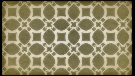 Ecru Vintage Ornamental Pattern Wallpaper Template 版權商用圖片