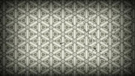 Vintage Decorative Floral Wallpaper Pattern Design Template