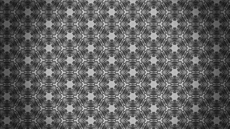 Dark Grey Decorative Floral Pattern Background 版權商用圖片