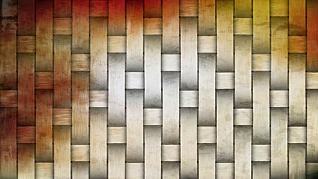 Orange and White Bamboo Background Image