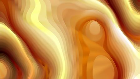 Orange Curvature Ripple Texture 版權商用圖片