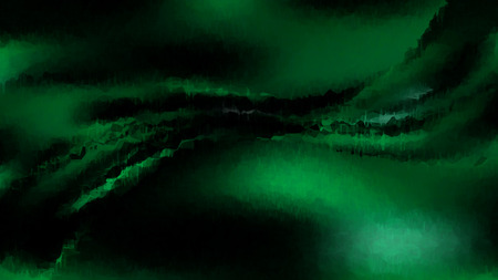 Green and Black Watercolour Grunge Texture Background