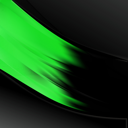 Cool Green Wave Business Background Vector Art 版權商用圖片 - 121882597