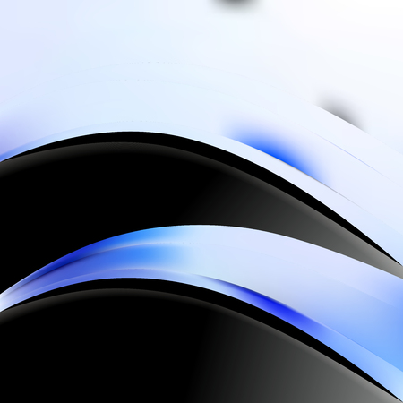 Blue Black and White Business Background