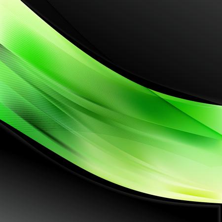 Green and Black Wave Business Background 版權商用圖片 - 121882623