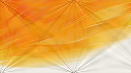 Orange and White Abstract Shiny Background Archivio Fotografico