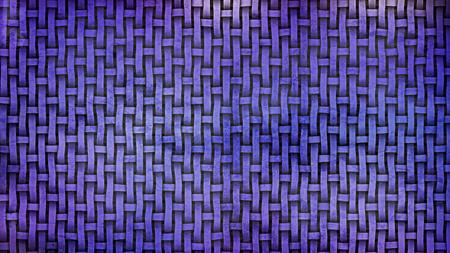 Dark Blue Wicker Twill Weave Background