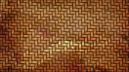 Dark Orange Bamboo Background