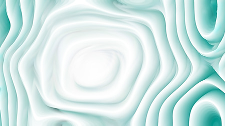 Turquoise and White Curve Texture