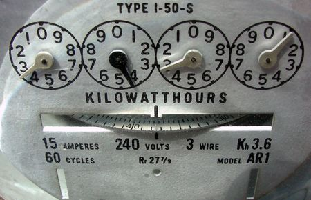 an electric meter photo