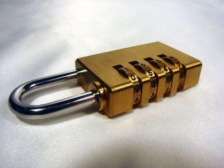 combination: a combination lock