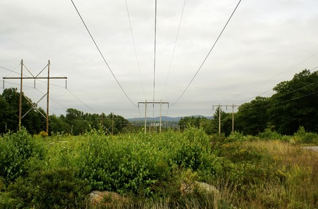 power lines in the country