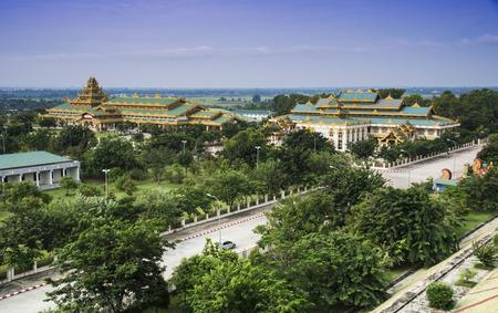 buddhist: Burmese Buddhist temple