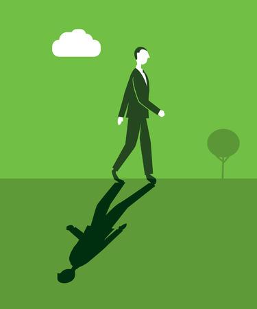 monotony: Walkingman?s Shadow