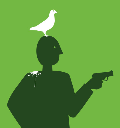 classified ad: Peace Gun