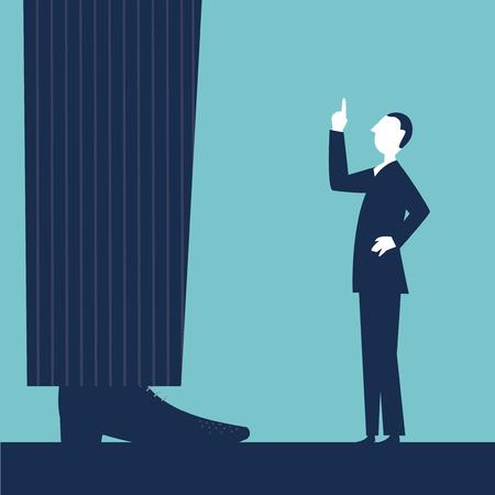 scold: The world upside down Illustration