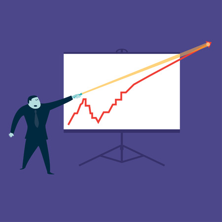 Line Graph Vector