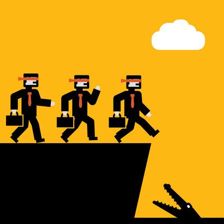 precipice: Blind Business