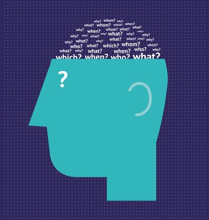 unanswered: Questioning brain