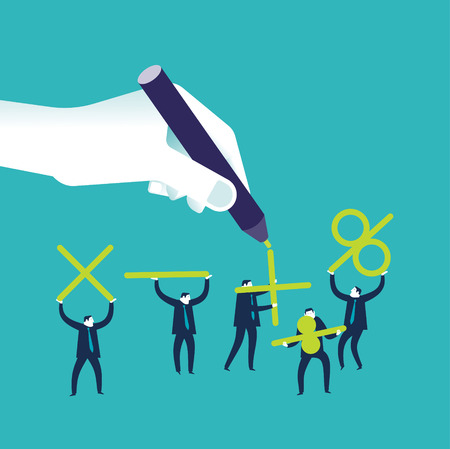 business team: Business Team Illustration