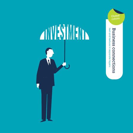 finance director: Vector umbrella investment