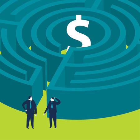 Ondernemers willen een geld doolhof in te voeren