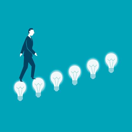 Creativity concept business- vector