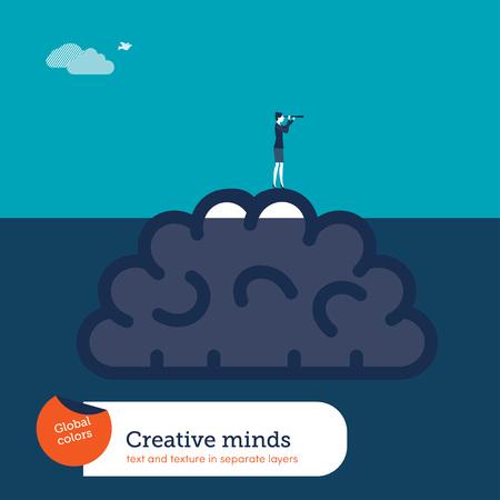 Business concept illustration - vector Illustration
