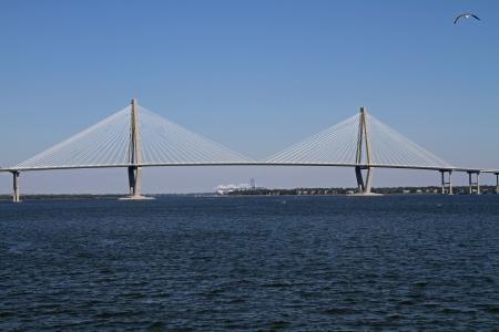 cooper: The Arthur Ravenel Jr   Cooper River  Bridge in Charleston, South Carolina