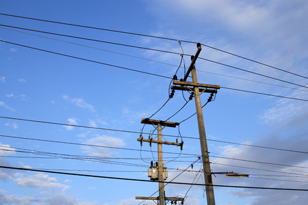 saturday: Electrical Saturday Stock Photo