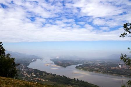 cours d eau: cours d'eau Fang Tha�lande, le Laos