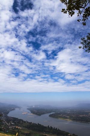 mekong river: junction  Mekong River  sky