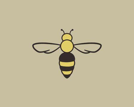 Cute bee Logo