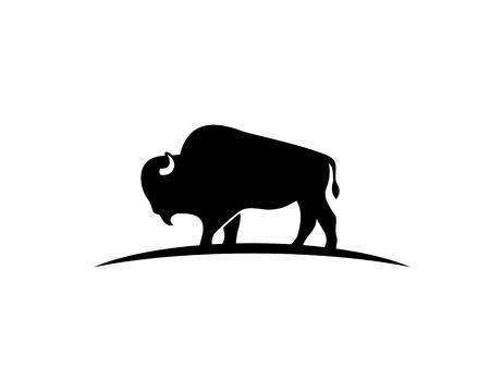 Bison silhouet