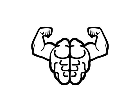 Strong Brain emblem icon