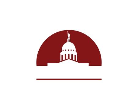 Oklahoma capital building  イラスト・ベクター素材