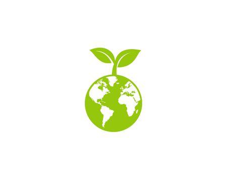 Eco world vector Ilustração