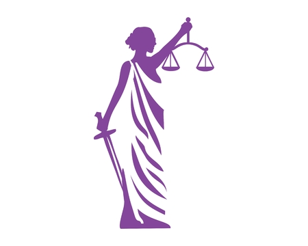 Lady justice icon
