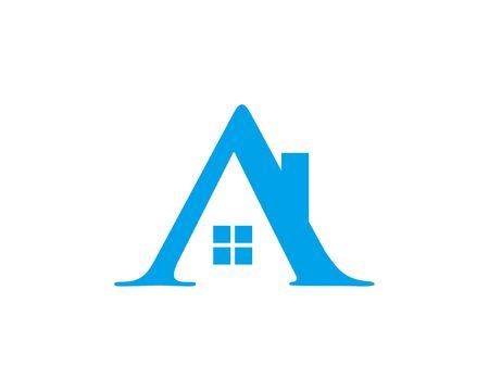 A Home logo Ilustração