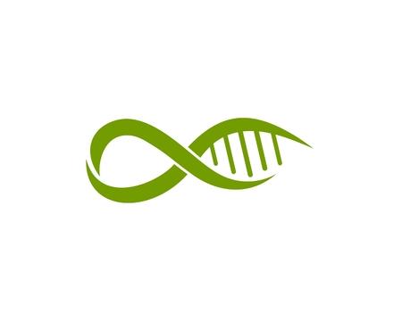 Alpha and DNA logo