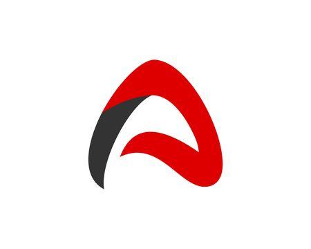 A Abstract logo