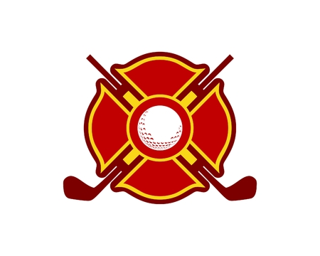 Golf club in circular design