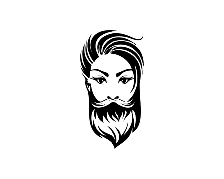 Bearded lady design