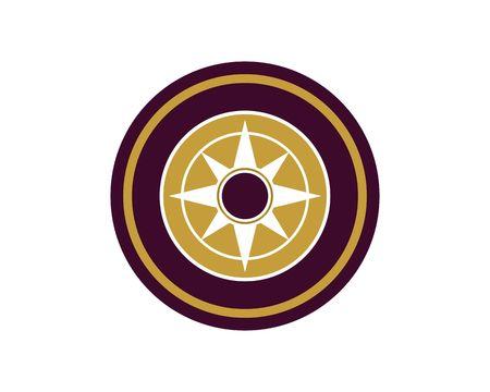 Compass design icon