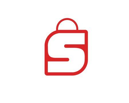 Shopping Bag logo icon
